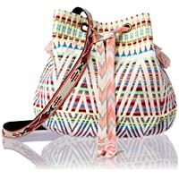 LaVida LA8228-2 Hippy Poms Shoulder Bag