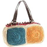 [スペディーレ] Raffia 横型 Large Bag
