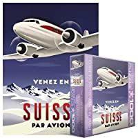 Come to Switzerland by Plane Puzzle, 1000-Piece おもちゃ [並行輸入品]