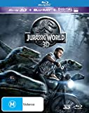Jurassic World - 3D Blu-ray + Ultra Violet