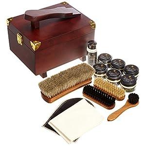 [ブートブラック] BootBlack SHOE CARE SET COSMOPOLITAN BBコスモポリタン (木製箱(ブラウン)木製箱+13点)