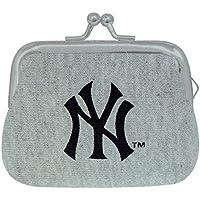 ニューヨーク?ヤンキース ミニがまぐちコインケース(NY黒白) メジャーリーグベースボールMLB [468435]