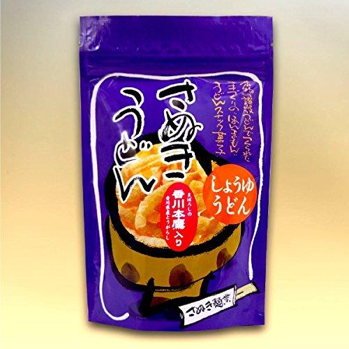 讃岐うどんスナック・香川本鷹(唐辛子)入り醤油味 (45g×10袋)