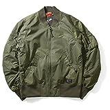 ナイキ ジャケット Nike ナイキ AF 1 WOVEN JACKET エアフォースワン ウーブン ジャケット フライトジャケット 925437-325 カーゴ カーキ CARGO KHAKI