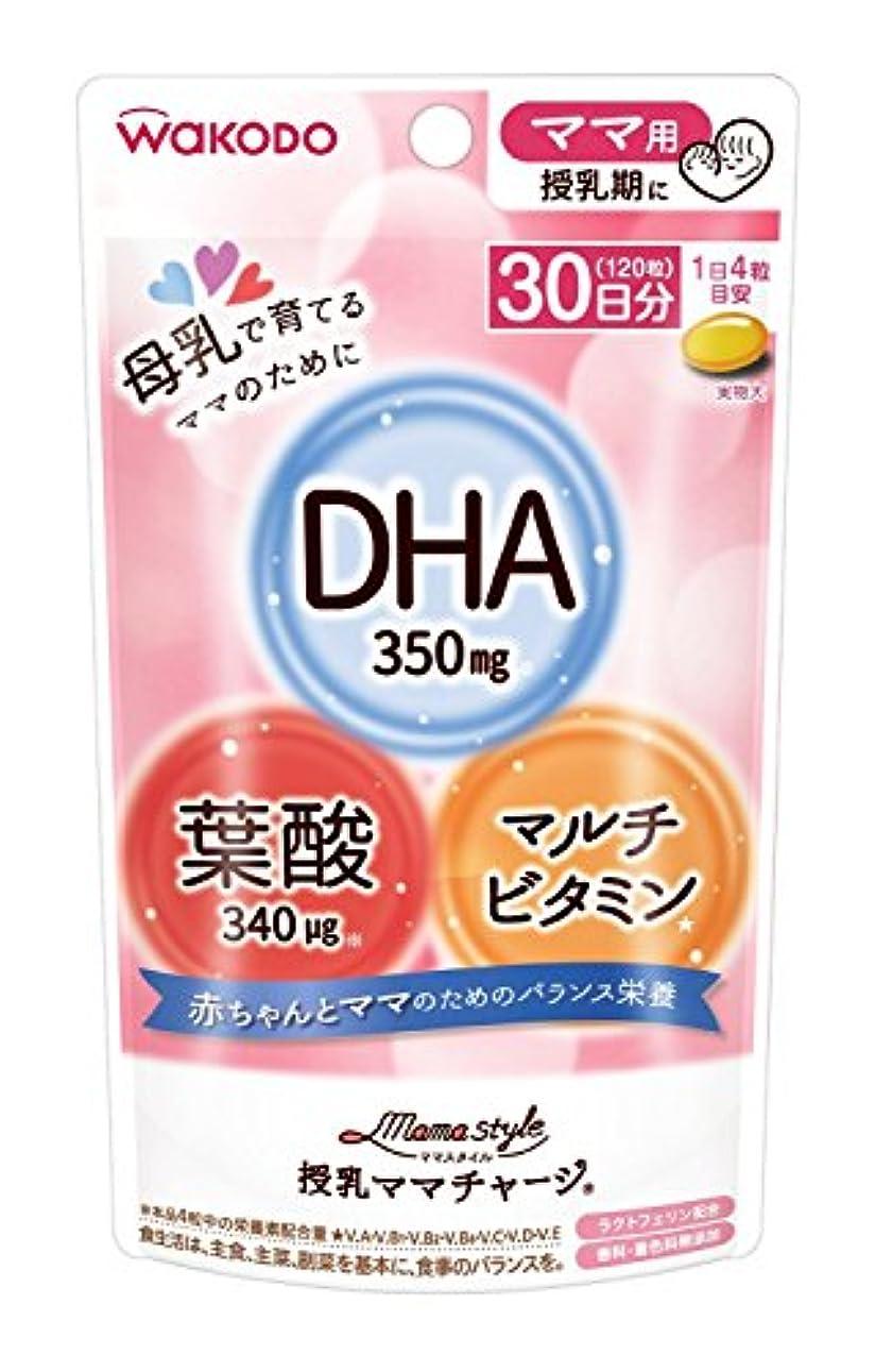 お茶狂うプラスママスタイル 授乳ママチャージ ママ用(授乳期に) 120粒(30日分)入