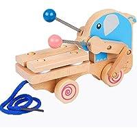 Linshop 子供たちの初期の教育おもちゃ赤ちゃん8手ノック音の楽器のピアノの良い象情報1~3歳の木琴
