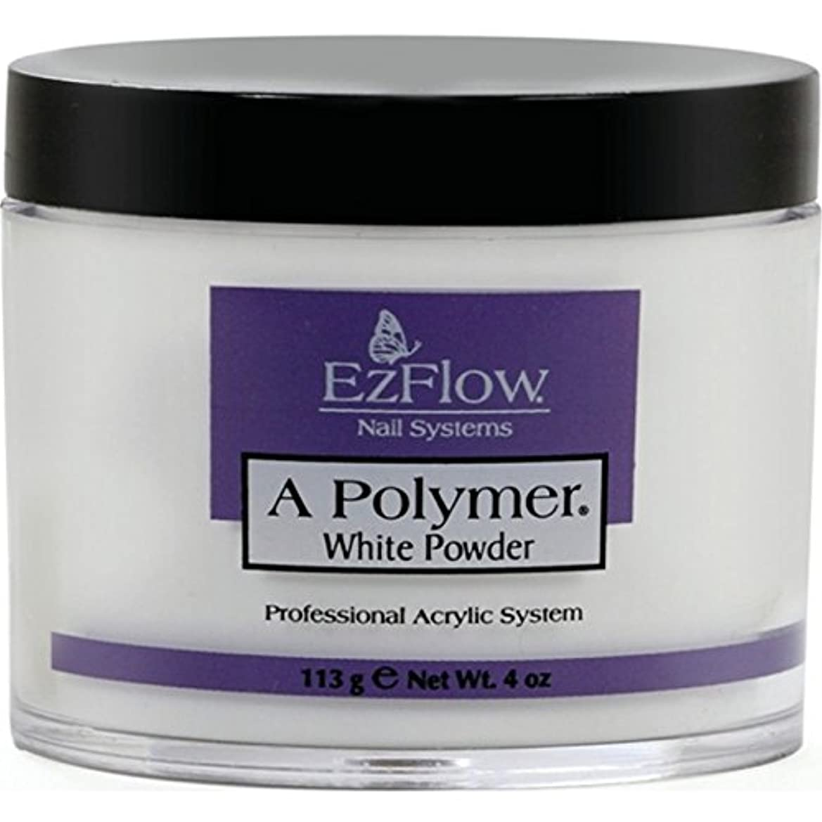 特徴エミュレートするもろいEz Flow Aポリマー ホワイト 4oz(約113)