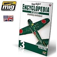 Amig Encyclopedia航空機のモデリングテクニックvol、3ペイントの英語# 6052