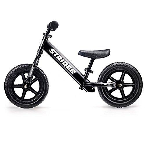 最安|評価は?キッズ用ランニングバイク STRIDER (ストライダー) スポーツモデル ブラック 日本正規品