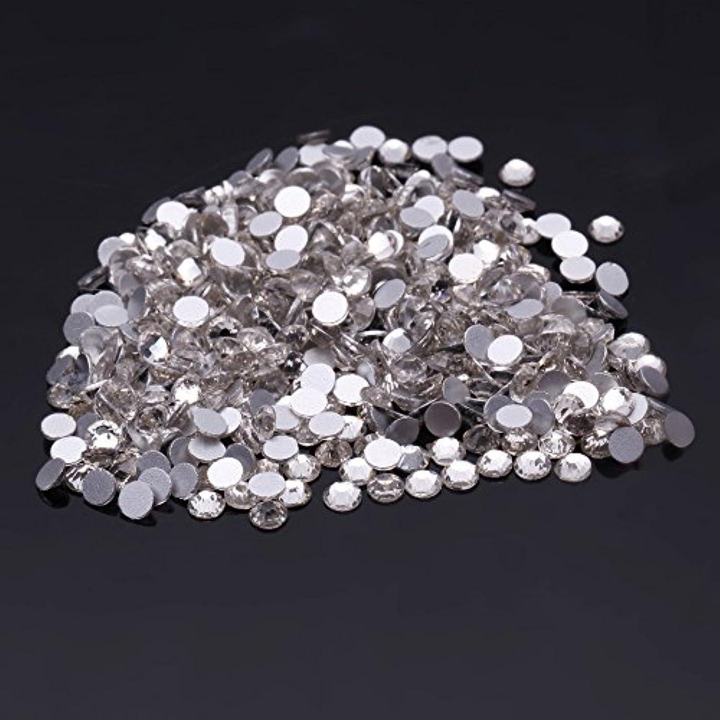 土器混沌機関1440粒ガラス製ラインストーン ネイル デコパーツ クリスタル(3.0mm (SS12) 約1440粒)