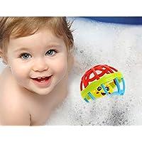 ZJKCボールBaby Rattle ToyおもちゃRattlesキッズソフト幼児教育幼児Hand新しい幼児新生児ベビーおもちゃRattles Developmental Baby Toys