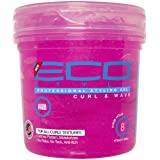 Eco Style Curl and Wave Styling Gel, 473 ml