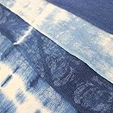 (ASAFUKU) 麻福 ふんどし 男性用 天然 ヘンプ素材 ( 麻 ) 藍染め ふんどしパンツ 夏 下着 メンズ 男性 快適 A 縦縞藍絞り