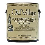 オールドビレッジ バターミルクペイント-SHADING WHITE 3785ML 1301の写真