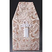 骨覆 上金襴覆 5寸壷用 なでしこ [5寸桐箱用] 供養 お盆 お彼岸 仏具