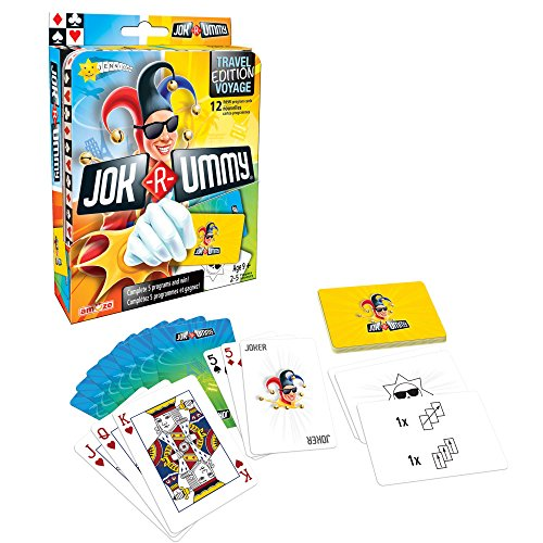 Editions Gladius International Jok-R-Ummy Travel Edition Multiplayer Card Game Children's