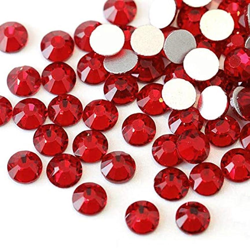 チョコレート残酷な染料【ラインストーン77】高品質ガラス製ラインストーン 色/サイズ選択可 SS3~SS50 スワロフスキー同等 (シャム, SS4:約1.5mm(約200粒))