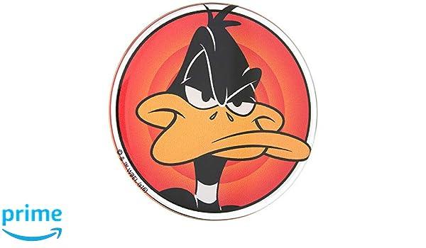 Yosemite Sam Automotive Emblem Looney Tunes Premium 3D Decal Sticker Multicolor