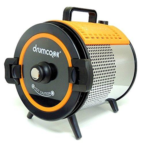 ドラムクック(drumcook)新料理スタイル!煮て、焼いて、炒めてと一台で何役もこなす!回転して自動で調理