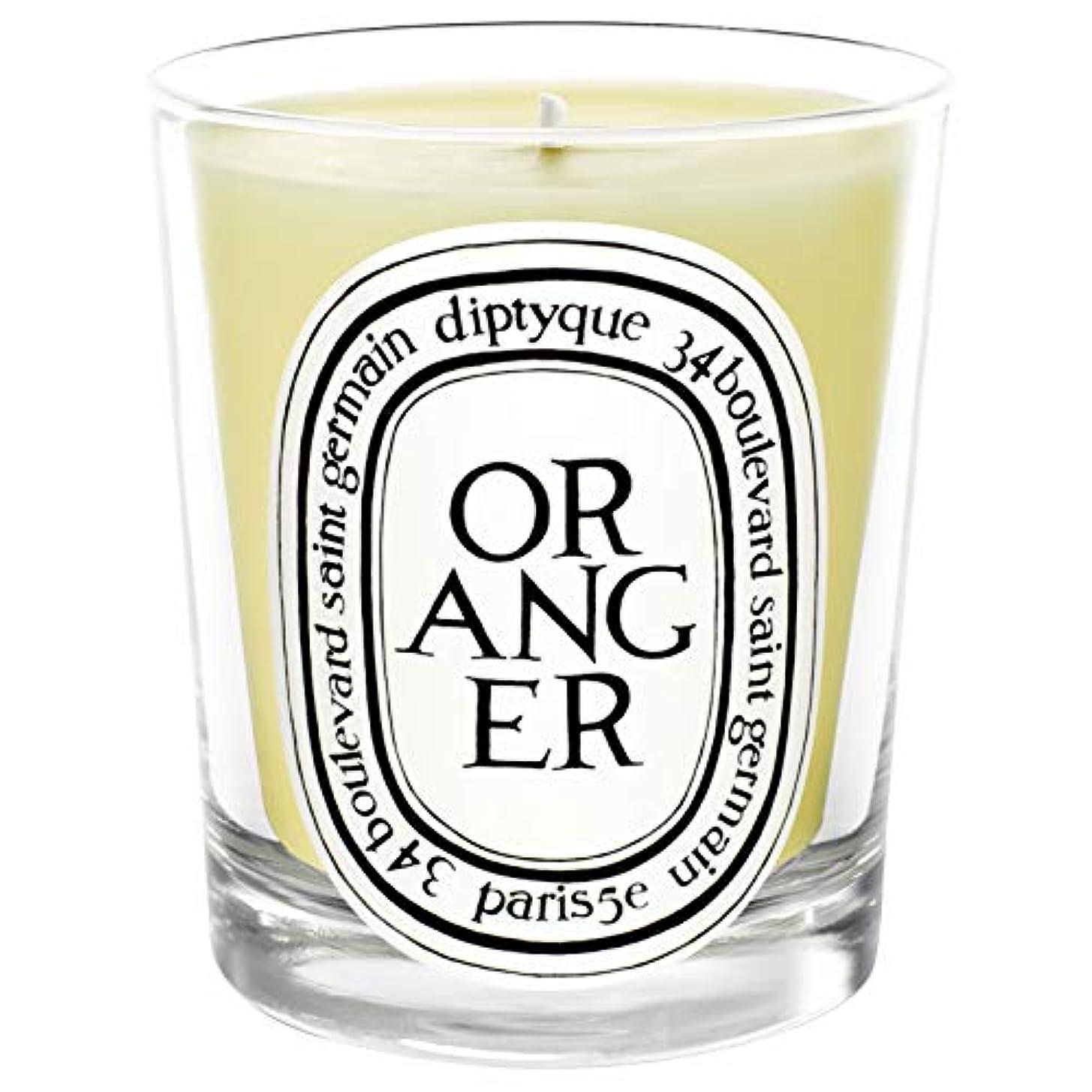失業赤道憂鬱[Diptyque] Diptyqueのオランジェ香りのキャンドル190グラム - Diptyque Oranger Scented Candle 190g [並行輸入品]