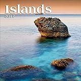 [2017年 フォト カレンダー]TURNER ターナー 壁掛け/Islands アイランド アート インテリア