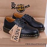 Dr.Martens ドクターマーチン 3ホール シューズ ビジネス 靴 ローファー 通勤 黒 EU41約26.2CM