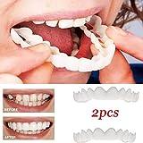 上歯の化粧板の2枚、フレックス化粧品の歯に適した化粧品の歯科快適性、最も快適な義歯のケア,2upperteeth