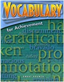 Great Source Vocabulary for Achievement: Student Edition Grade 9