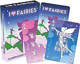 Aquarius I Heart Fairies Playing Cards