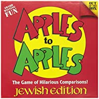 Jewish Educational Toys Apples To Apples Jewish Edition