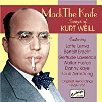 Songs by K. Weill (2007-06-28)