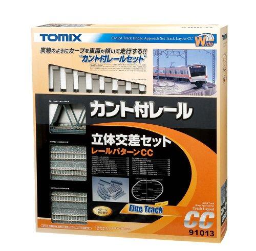 TOMIX Nゲージ 91013 カント付レール立体交差セットCC