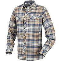 HELIKON-TEX Men's Defender Mk2 Pilgrim Shirt Long Sleeve Ginger Plaid