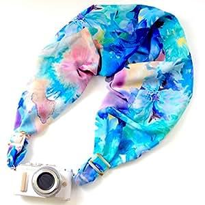 サクラスリング カメラ用ネック・ショルダーストラップ ウォーターカラー/エメラルド  グッドデザイン賞受賞  SCSM-001