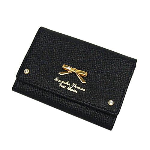 サマンサタバサプチチョイス リアン カード&パスケース/ブラック