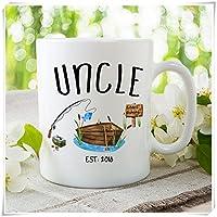 新しいは、ベビーギフト、プレゼントUncle叔父ギフト、、Uncle叔父に発表、BrotherギフトMugセラミックカップ11オンス