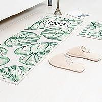 カーペット敷物玄関浴室モップベッドサイドドアマン洗えるアート環境保護アートリビングルームベッドルームマット吸水 ( Size : 45*120cm , Style : D )