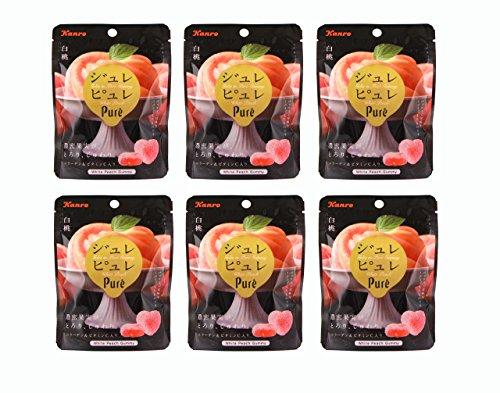 ジュレピュレ 白桃 6袋