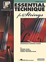 Essential Technique for Strings Book Three: Violin: Intermediate Technique Studies