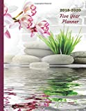 2018 - 2022 Orchid Five Year Planner: 2018-2022 Monthly Schedule Organizer - Agenda Planner for the Next Five Years/60 Months Calendar - 8.5 X 11 Inches (12/2017 and 01/2023 Included)