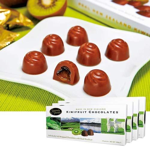 キウイフルーツ チョコレート 4箱セット【ニュージランド 海外土産 輸入食品 スイーツ】