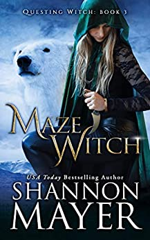Maze Witch (The Questing Witch Series Book 3) by [Mayer, Shannon]