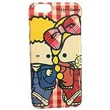 グルマンディーズ パティ&ジミー iPhone6対応 シェルジャケット アップ SAN-374A