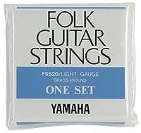 ヤマハ YAMAHA ライトゲージ フォークギター用セット弦 FS520