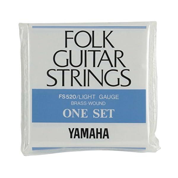 ヤマハ YAMAHA ライトゲージ フォークギタ...の商品画像