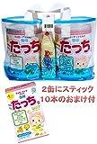 ビーンスターク・スノー 雪印たっち850g×4缶 おしりふき80枚付 2缶にスティック10本箱付 ミルク フォローアップ 4903050168361