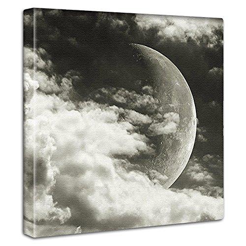 【アートデリ】月の写真のインテリアパネル pho-0073-l