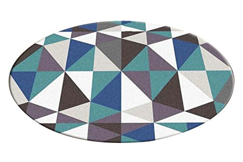 [三角形-3]スタイリッシュなラウンドエリアラグチェアマットリビングルームベッドルームカーペット