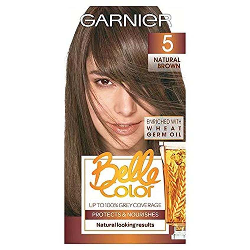 ご注意オーストラリア流出[Belle Color ] ガーン/ベル/Clr 5ナチュラルブラウンの永久染毛剤 - Garn/Bel/Clr 5 Natural Brown Permanent Hair Dye [並行輸入品]