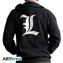"""デスノートフーディー""""L""""(エクストララージ)  Death Note Hoodie """"L""""  (Extra Large)"""